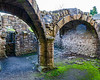 Vaulted Undercroft @ Finchale Priory - Framwellgate Moor, County Durham, England, UK