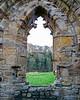 River  Wear through a Window @ Finchale Priory - Framwellgate Moor, County Durham, England, UK