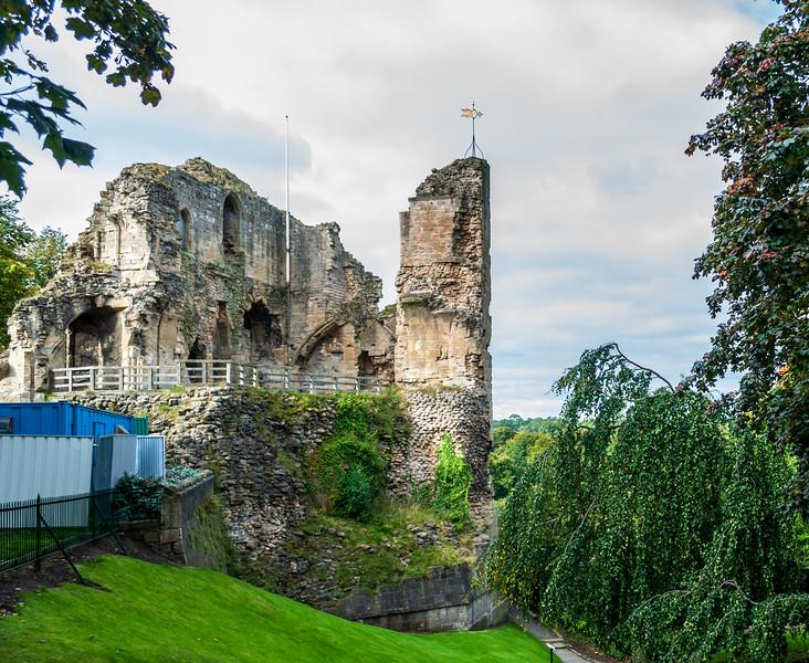 Knaresborough Castle c. 1100 - Knaresborough, England, UK