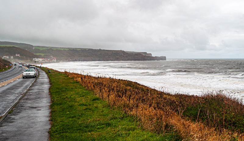 View from the North Promenade - Whitby, England, UK
