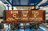 Model of a Burn Co-Op Coal Wagon @ National Railway Museum - York, England, UK