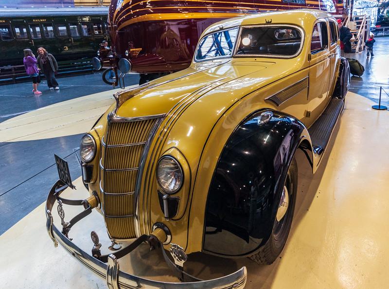 1935 Chrysler Airflow C1 (aka Chrysler Heston) @ National Railway Museum - York, England, UK