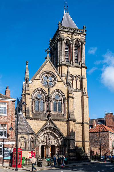 St. Wilfrid's Catholic Church c. 1864 - York, England, UK