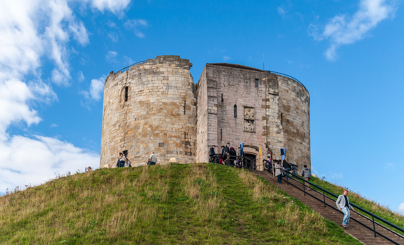 Clifford's Tower (York Castle Keep) c. 1069 - York, England, UK