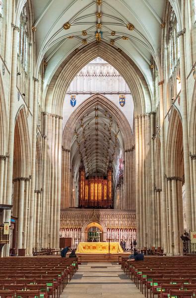 Nave (east view) @ York Minster - York, England, UK