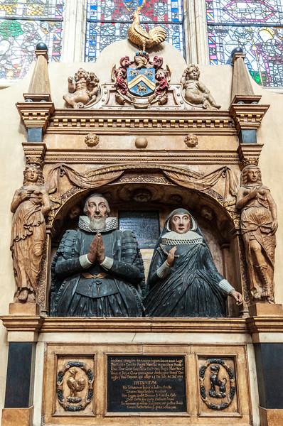 Memorial to Sir William Ingram & family @ York Minster - York, England, UK