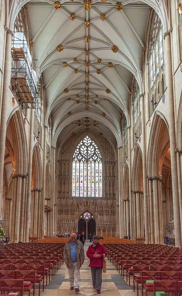 Nave (west view) @ York Minster - York, England, UK