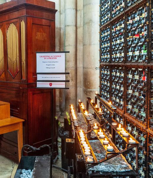 Prayer Candles @ York Minster - York, England, UK