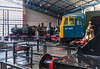 Locomotives around the Turntable @ National Railway Museum - York, England, UK