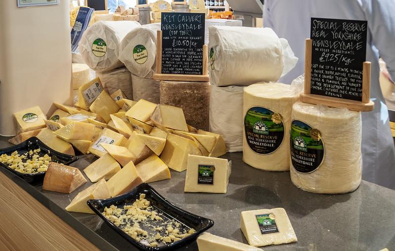 Wensleydale Cheese @ Wensleydale Creamery - Hawes, Wensleydale, North Yorkshire, England, UK
