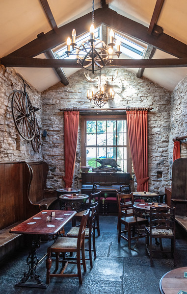 Green Dragon Inn - Hardraw, Hawes, Wensleydale, North Yorkshire, England, UK