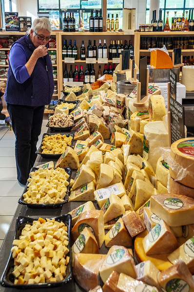 Cheese Tasting - Hawes, Wensleydale, North Yorkshire, England, UK