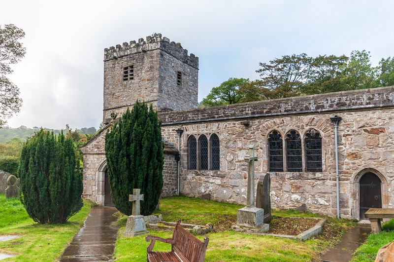 St. Michael and All Angels Church c. 12th Century @ Hubberholme - Buckden, Craven, North Yorkshire, England, UK