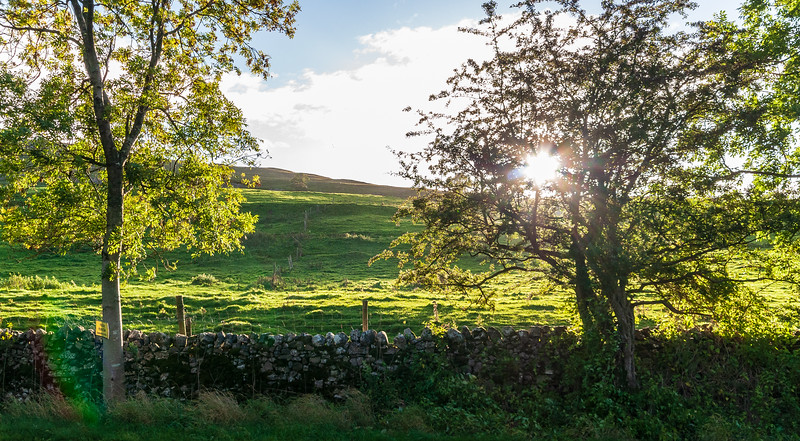 Late Afternoon - Kilnsey, Craven, North Yorkshire, England, UK
