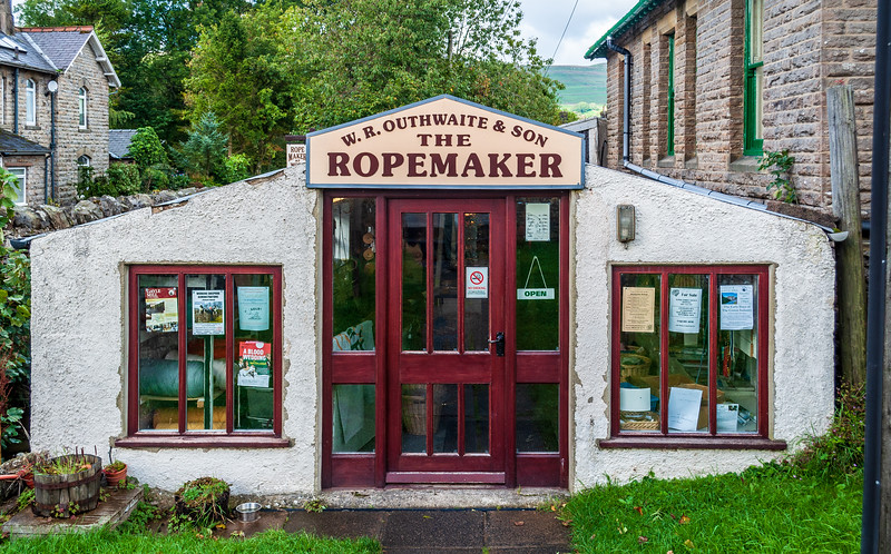 W.R. Outhwaite & Son, The Ropemaker (since 1905) - Hawes, Wensleydale, North Yorkshire, England, UK