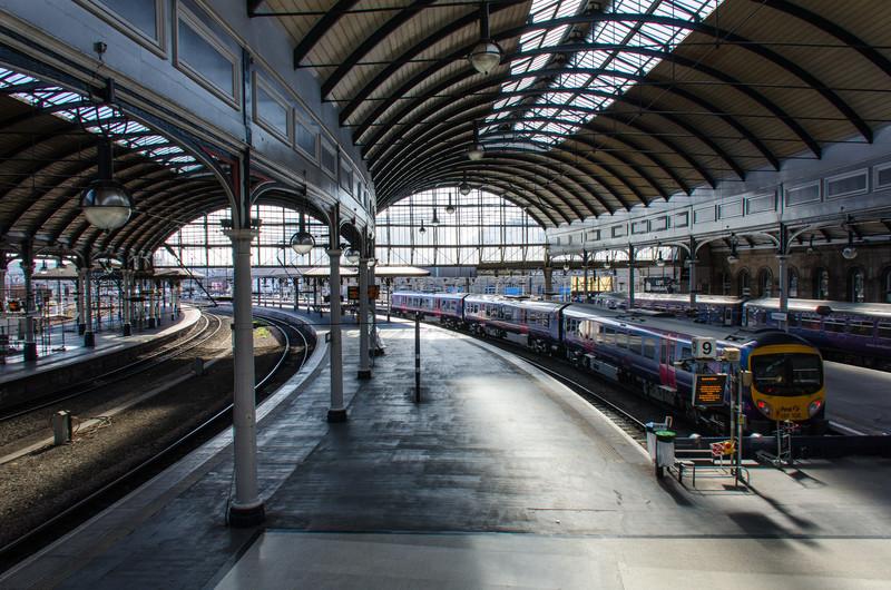 Newcastle Central Station - Newcastle, England, UK