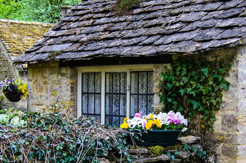 Cottage - Bibury, Gloucestershire, England, UK