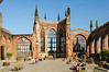 Coventry Cathedral Ruins (aka St. Michaels Cathedral) - Coventry, England, UK