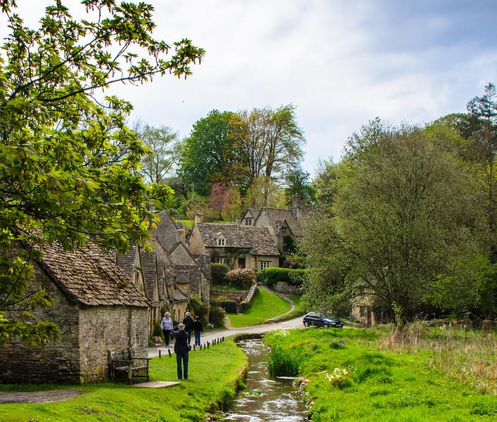 Arlington Row 1 c. 1380 - Bibury, Gloucestershire, England, UK