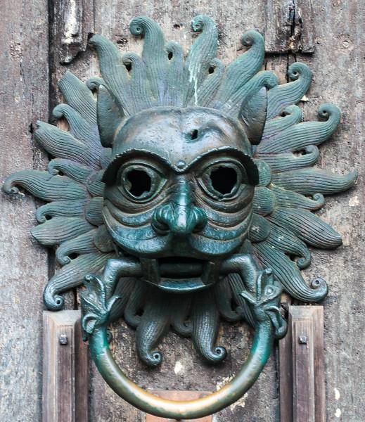 Knocker on Durham Cathedral Door @ Durham Cathedral - Durham, England, UK