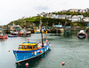 Inner Harbour Fishing Boat - Megavissey, Cornwall, England, UK