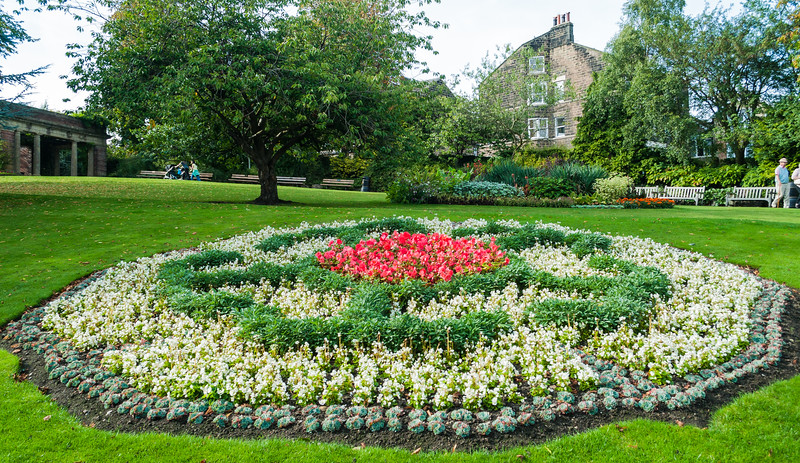 Flower Bed - Harrogate, England, UK