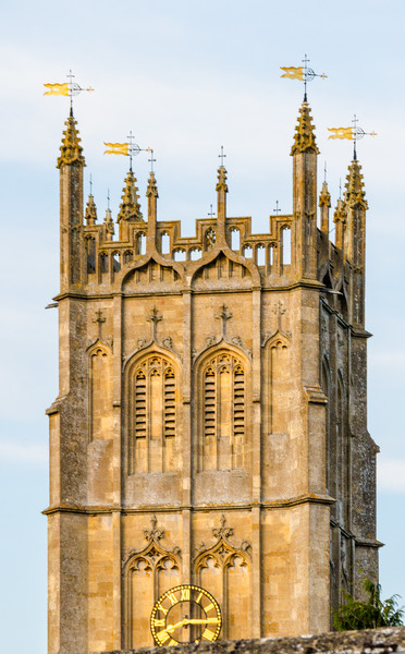 St. James Church Tower c. 1500 - Chipping Campden, England, UK