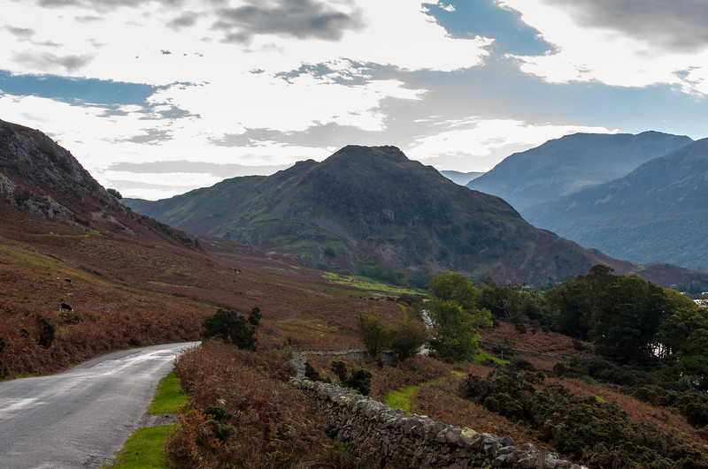 Rugged Scene near Crummock Water - The Lake District, England - by Paul Diming