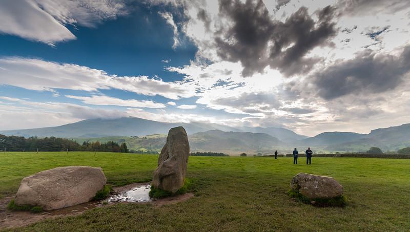 Three Castlerigg Stones - Castlerigg - Keswick, England - by Paul Diming