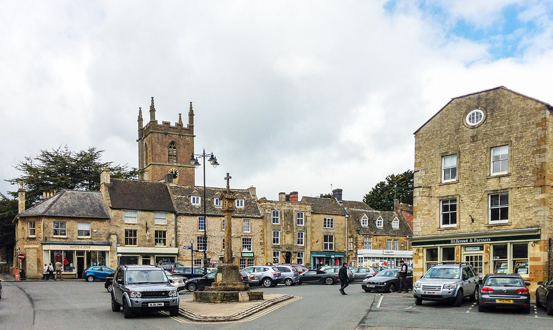 Market Square - Stow-on-the-Wold, England, UK