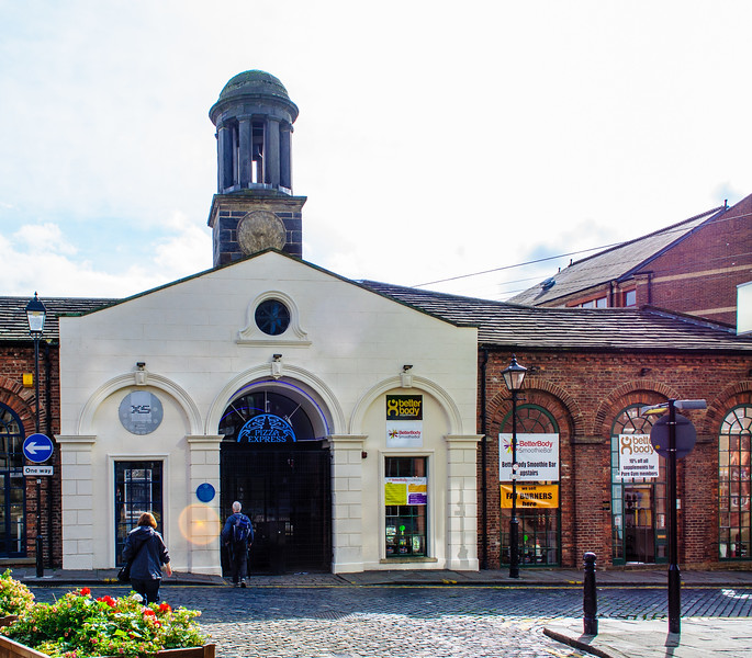 3rd White Cloth Hall c 1776 - Leeds, England, UK