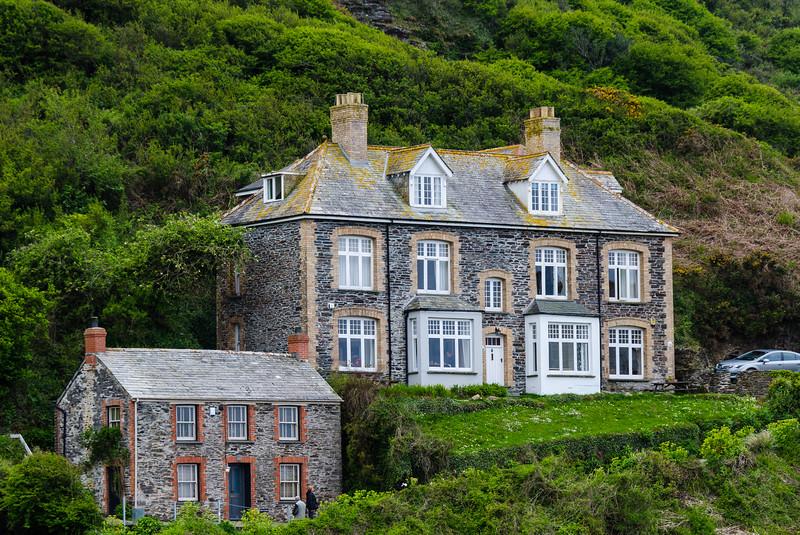Doc Martin's Surgery - Port Isaac, Cornwall, England, UK