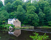 Old Corn Mill on the River Wear - Durham, England, UK