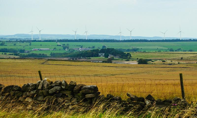 Knabs Ridge Wind Farm - Felliscliffe, England, UK