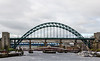 Five Bridges - Newcastle, England, UK