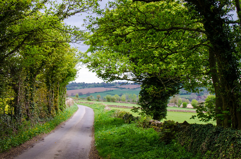 Country Road - Upper Slaughter, England, UK