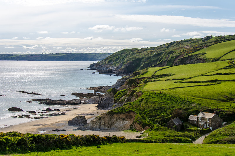 Boswinger Beach III - Cornwall, England, UK