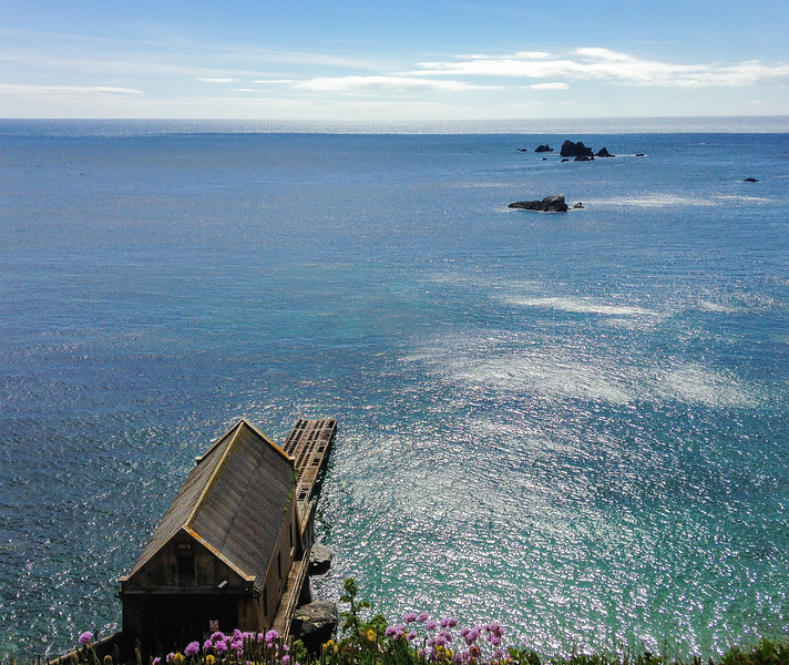 The Old Lizard Lifeboat Station - Lizard Point, Cornwall, England, UK