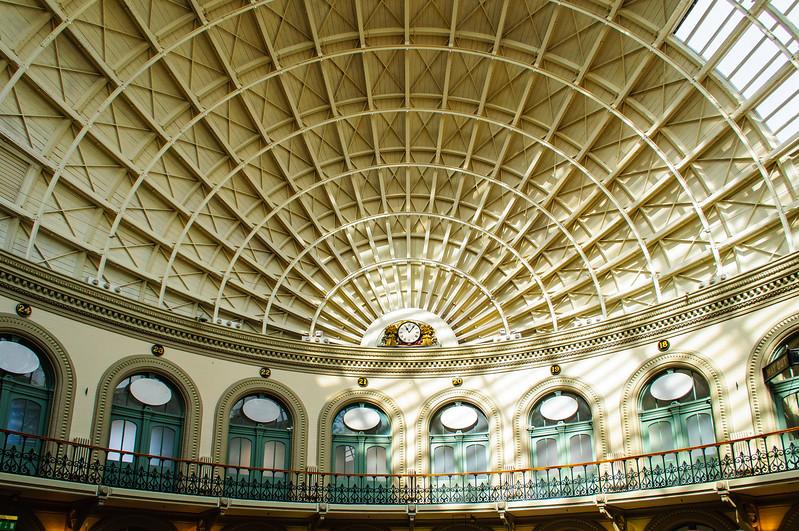 Ceiling @ Leeds Corn Exchange c. 1864 - Leeds, England, UK