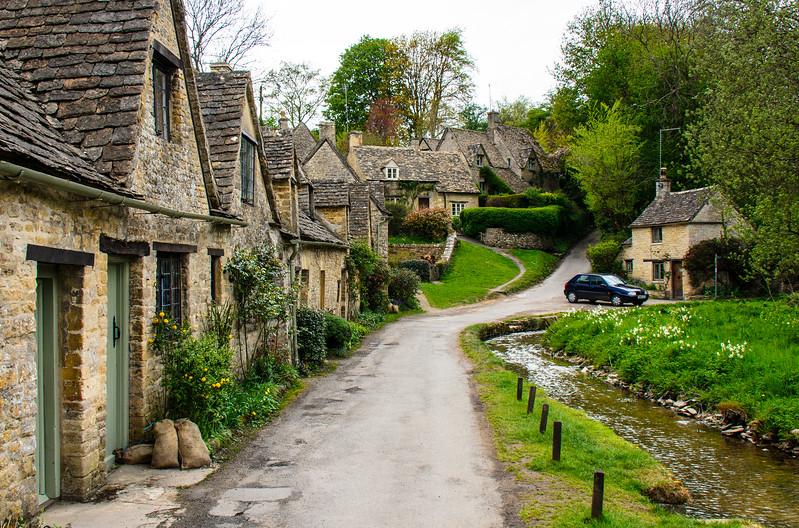 Arlington Row 2 c. 1380 - Bibury, Gloucestershire, England, UK