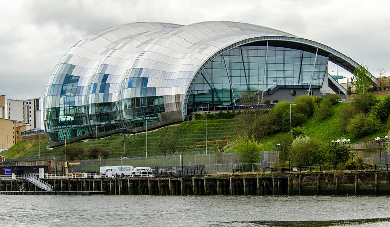 The Sage Gateshead - Gateshead, England, UK