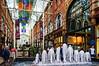 Fountain @ Kirkgate Market - Leeds, England, UK