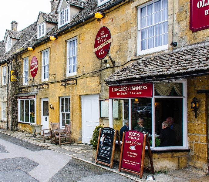 The Old Stocks Inn - Stow-on-the-Wold, England, UK