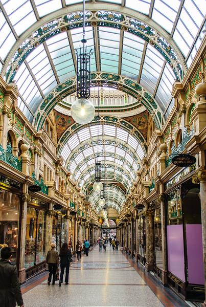 County Arcade - Leeds, England, UK