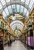 Inside Kirkgate Market - Leeds, England, UK