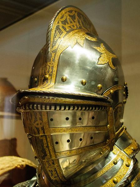 Engraved Helmet 2 @ Royal Armouries Museum - Leeds, England, UK