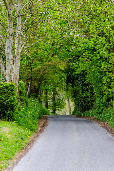 What is just around the corner? - Upper Slaughter, England, UK