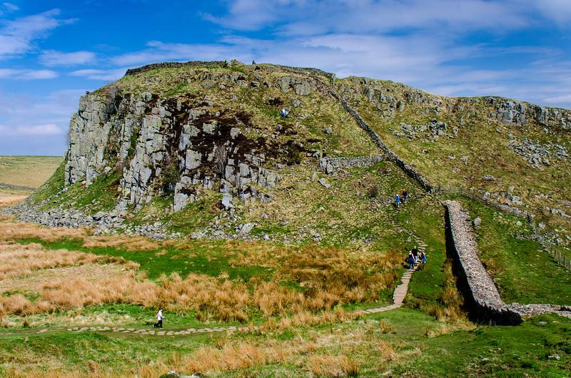 Hadrian's Wall & Peel Crag - Once Brewed, England, UK