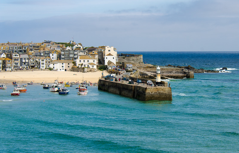 Smeatons Pier - St. Ives, Cornwall, England, UK