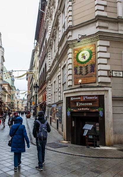 La Botte Italian & Hungarian Restaurant on Vaci Utca - Budapest, Hungary